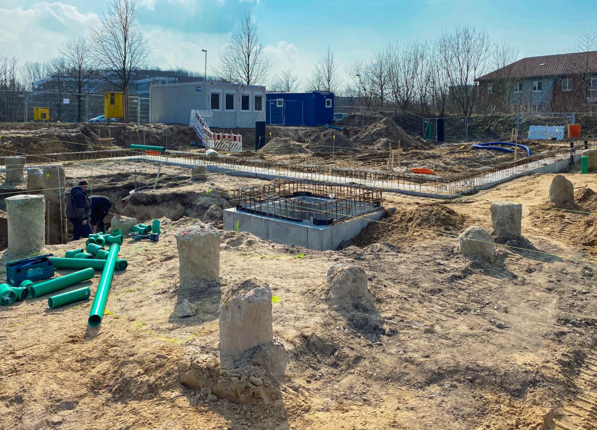 Baubeginn Hochschule Kiel